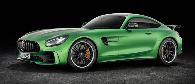 Mercedes launches AMG GTR in India