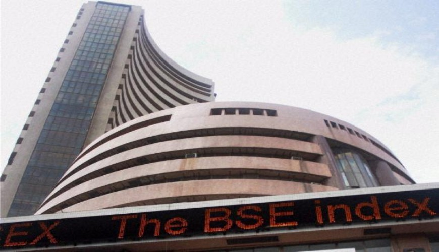 Sensex goes up 160 points on reforms, F&O expiry