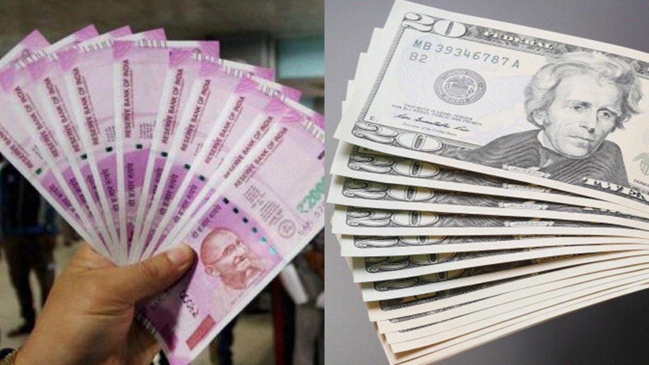 Rupee slips 42 paise to 72.08 against US dollar