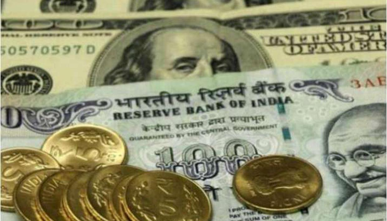 Rupee surges 17 paise against US dollar