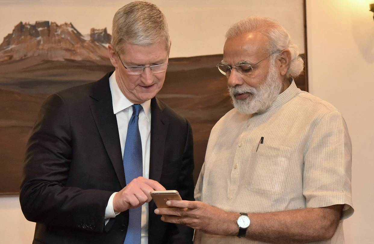 Apple Is Discussing Manufacturing in India, Government Officials Say