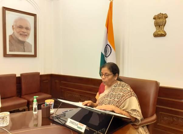 Nirmala Sitharaman attends G20 Finance Ministers