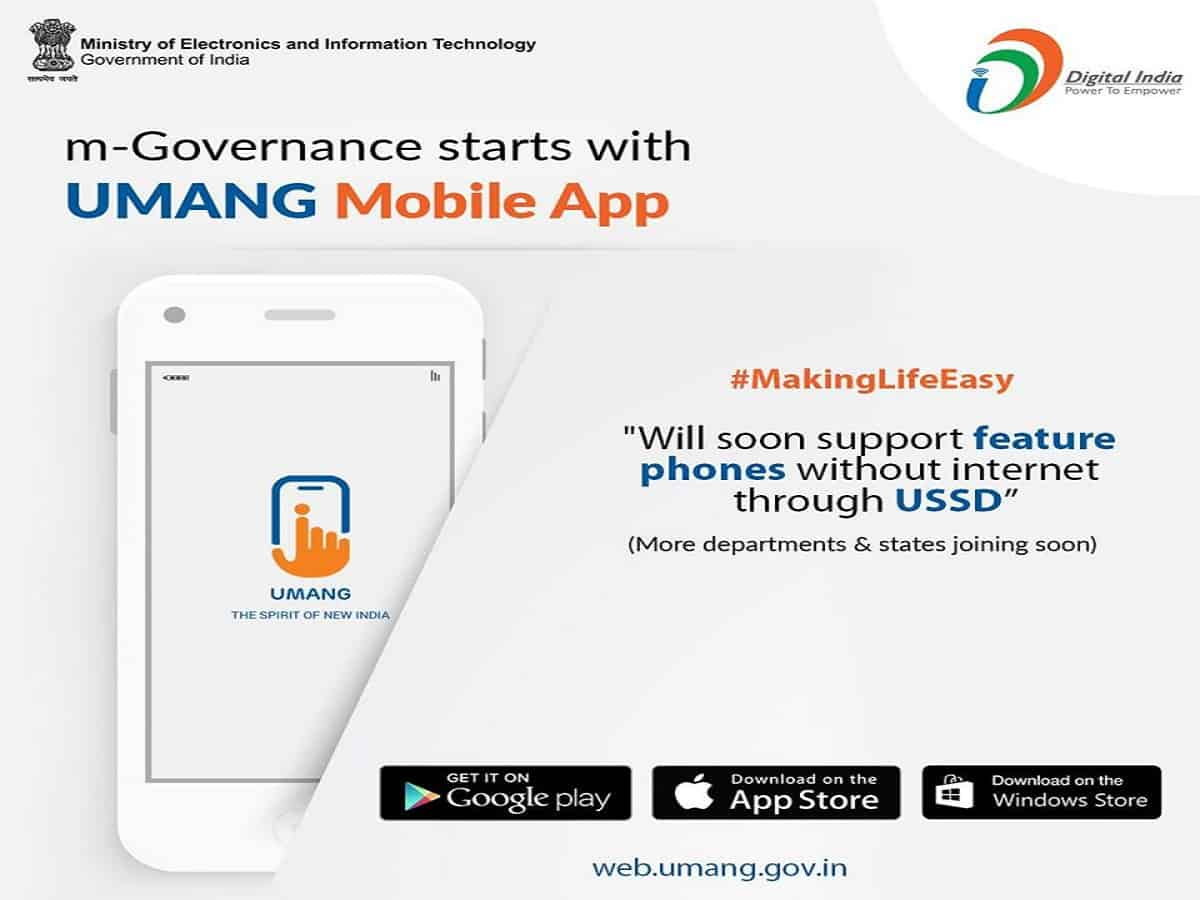 UMANG App: One-stop to avail over 500 services