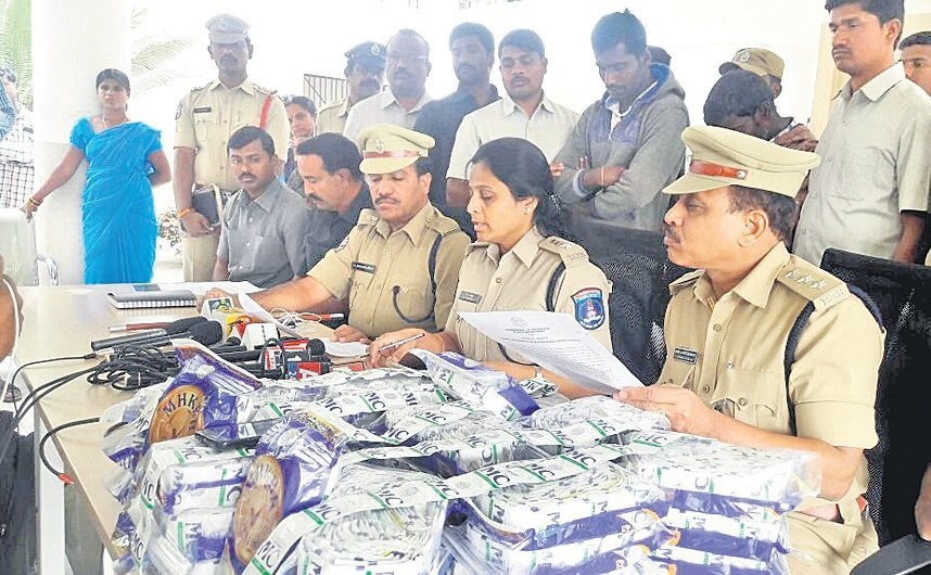 Gutkha worth Rs.1.38 cr seized in Hyderabad