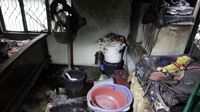 Three minor sisters burnt alive in Pakistan