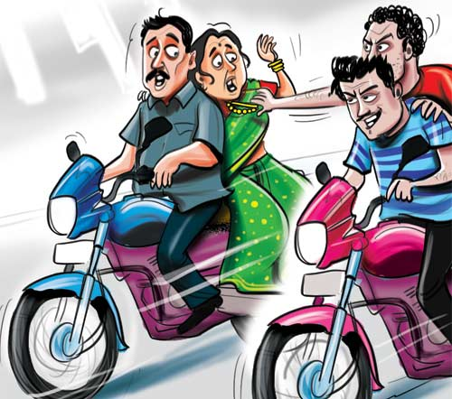Gang of six nabbed for chain snatching in Cyberabad