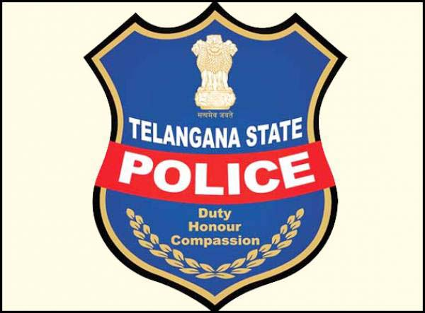 Police raided a massage parlour in Hyderabad