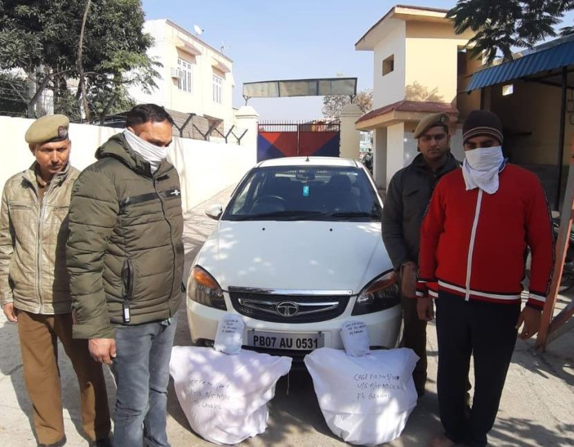 2 drug peddlers held with 175 kg poppy in Jammu