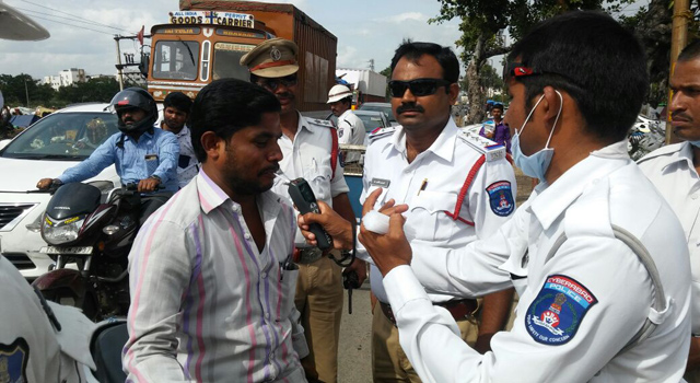 267 minors caught driving in Hyderabad