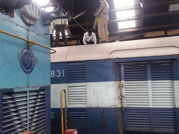 Train robbery: Rs.5.78 crore stolen whle being transported to RBI branch in Chennai