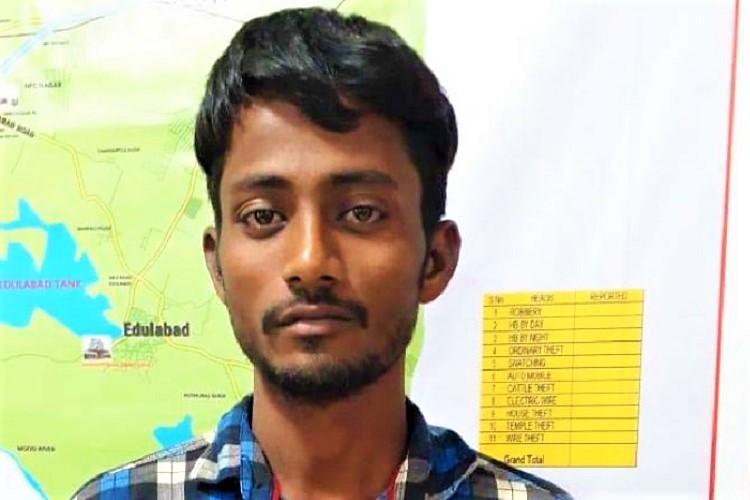 Prisoner escapes police custody in Hyderabad