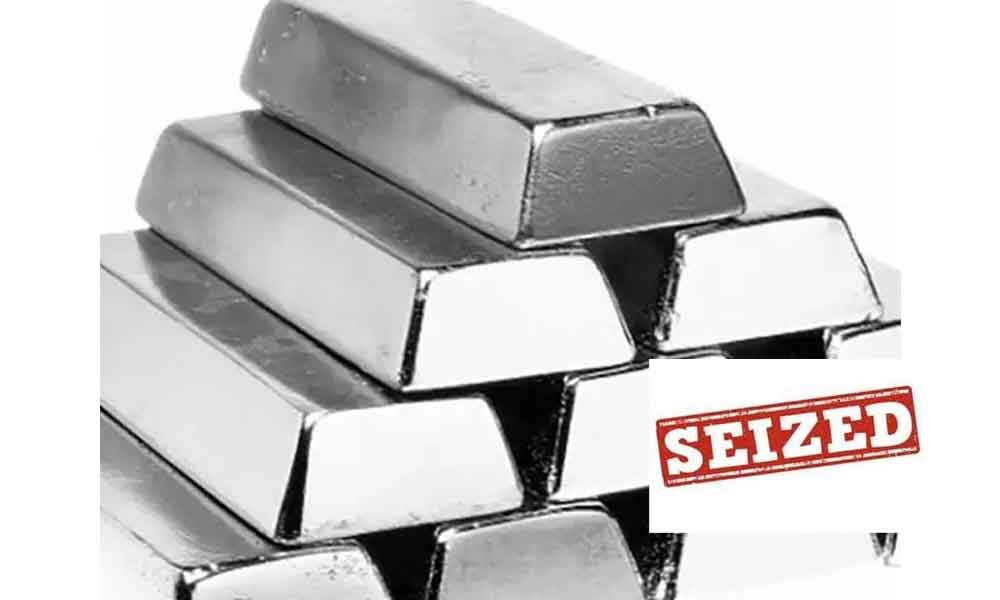 10 tonnes of silver seized in Bowenpally, Hyderabad