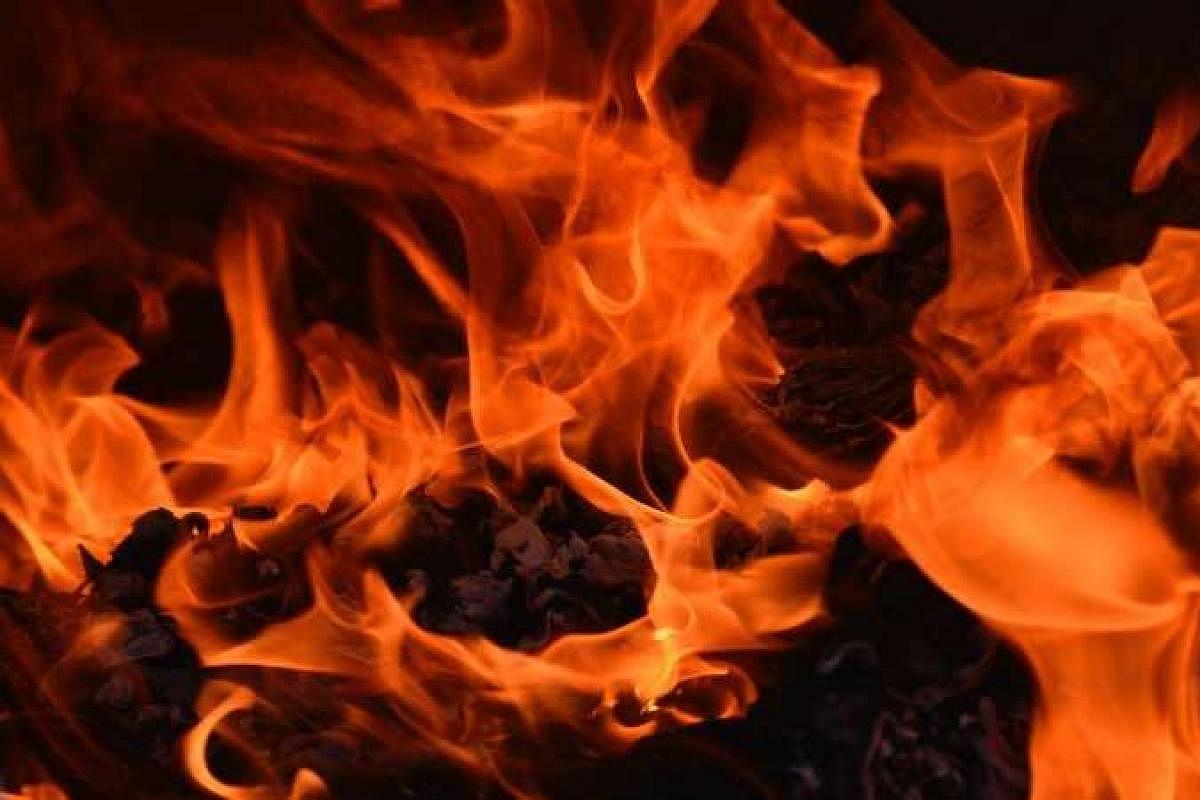 Man killed, body set ablaze in Hyderabad