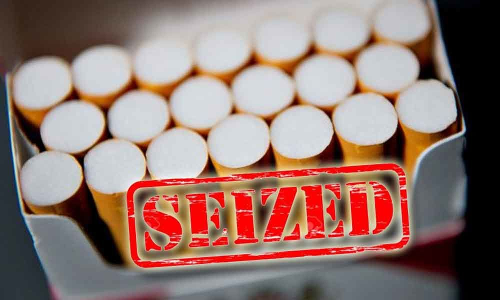 Banned foreign cigarettes seized in Hyderabad
