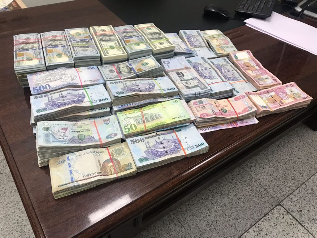 Foreign currency worth Rs. 1.02 crore seized at RGIA,Hyderabad