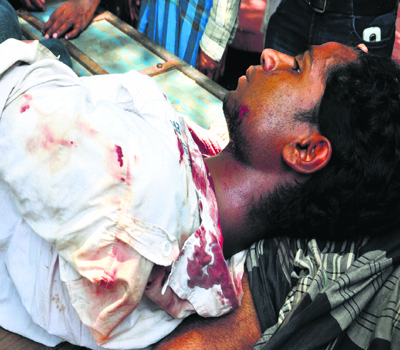 1 shot dead, 1 injured as civic polls