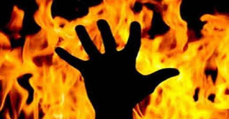 Woman tehsildar burnt alive at her office near Hyderabad