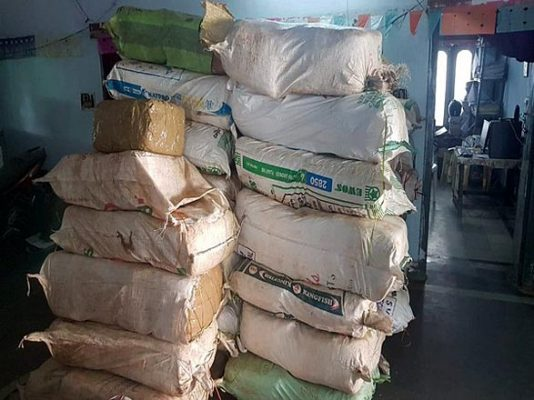 AP: Four held with 1800 kg cannabis in Visakhapatnam
