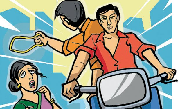 Two chain snatchers held in Hyderabad