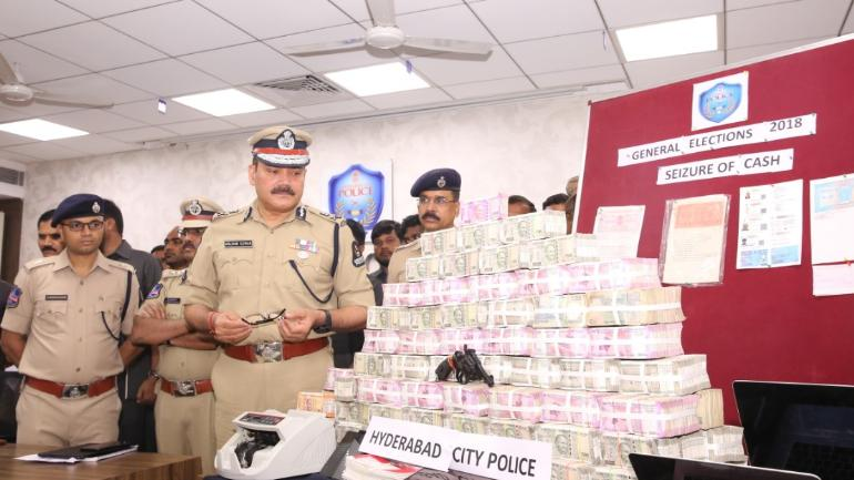 Hyderabad: Police seize Rs 97 lakh from hawala operators