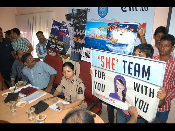 55 eve-teasers held in Old city; counselled