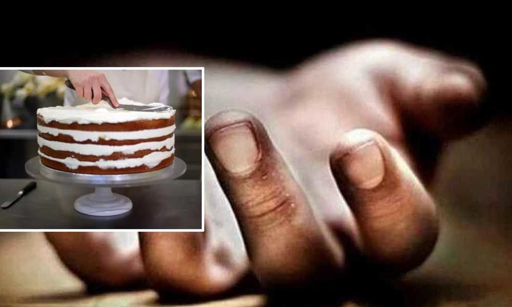 Son, father die after eating birthday cake in Siddipet district