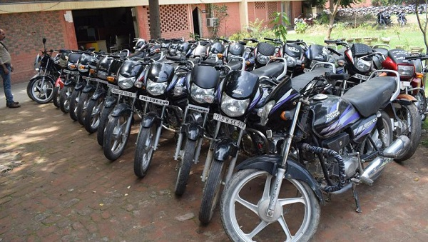 14 stolen bikes recovered, 1 held in Ludhiana others are yet to be arrested.