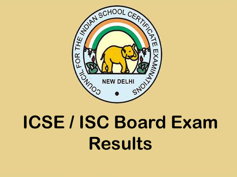 ICSE and ISC exam results for students of Class 10 & 12 to be declare tomorrow at 3 pm