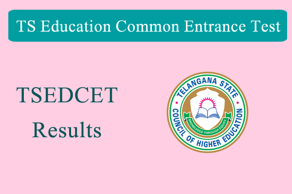 TS EdCet final results announced
