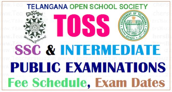Change in TOSS exam schedule