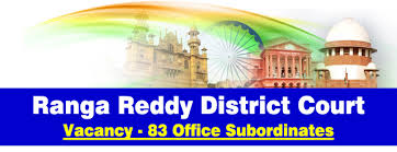 Ranga Reddy District Court Recruitment 2015