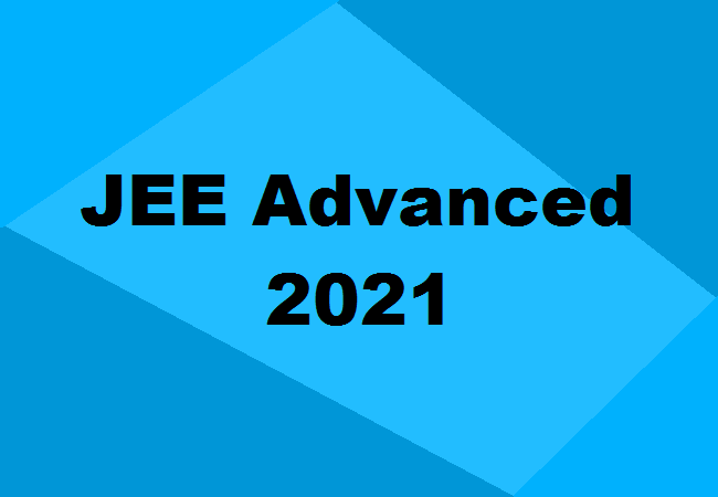 JEE (Advanced) 2021 exam for admission to IITs to be held on Oct 3