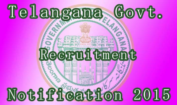 85,000 Government jobs recruitment to be conducted by Telangana