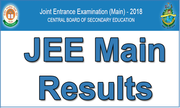 JEE Main results to be declared today