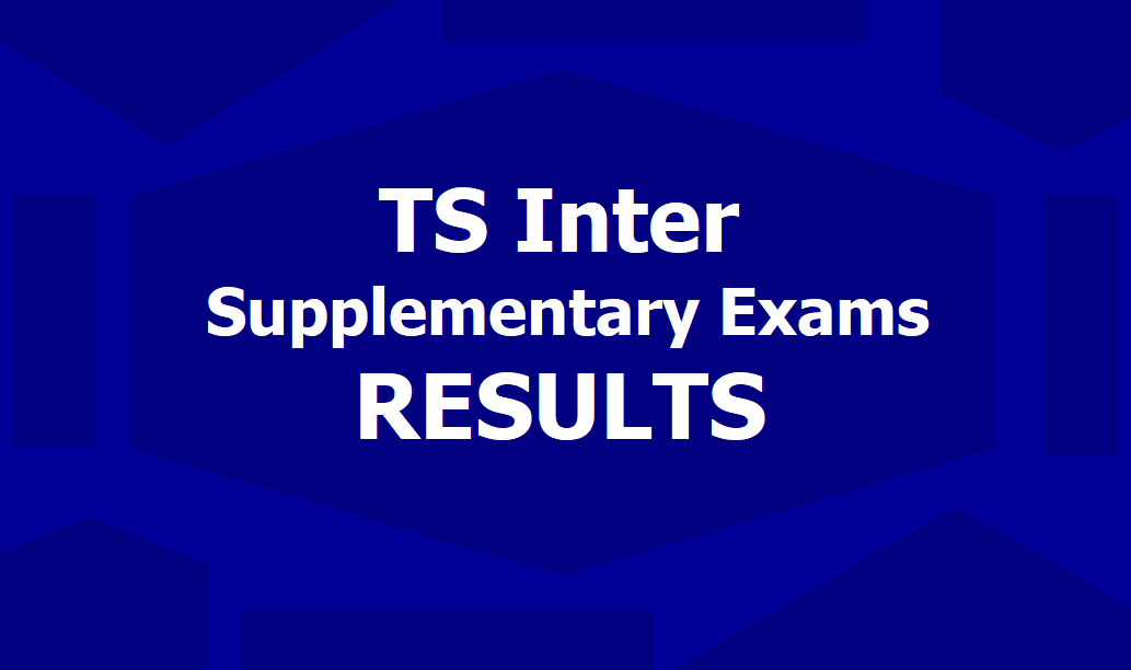 TS inter first year supplementary results 2019 released