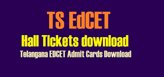 TS EdCET 2019 hall tickets released