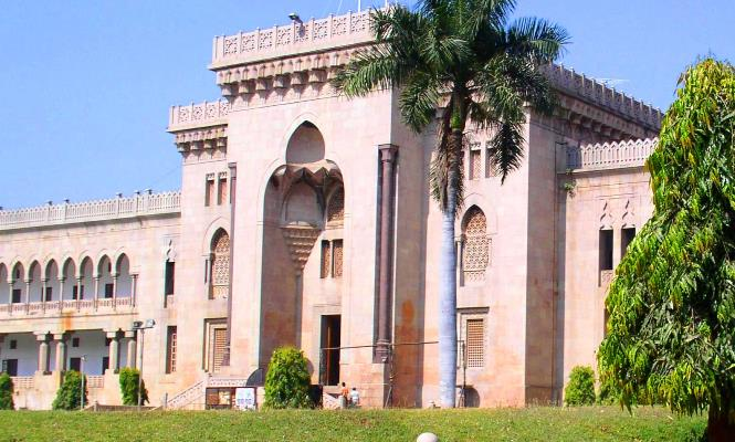 Placement drive at Osmania University today