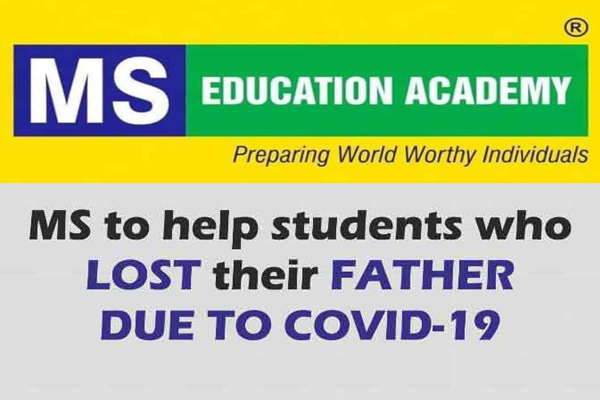 MS Academy offers free education for Inter, degree students who lost parents to COVID-19