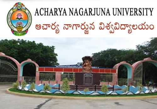 Acharya Nagarjuna University, M.Phil/Ph.D Programs 2015