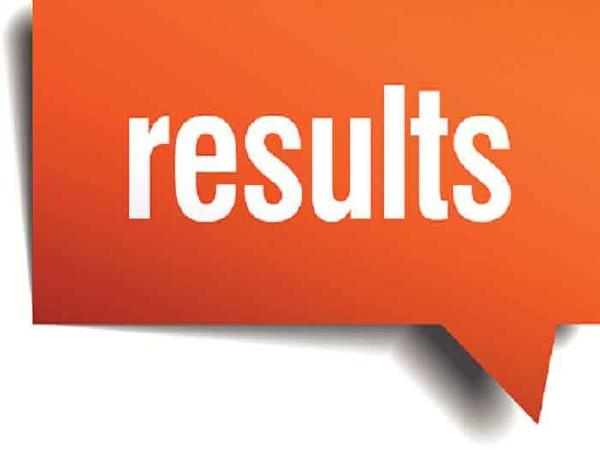 TRT results declared