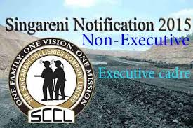 SCCL Recruitment 2015
