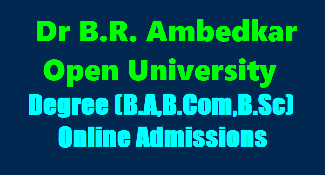 BRAOU extends last date for online admission for undergraduate/post graduate courses