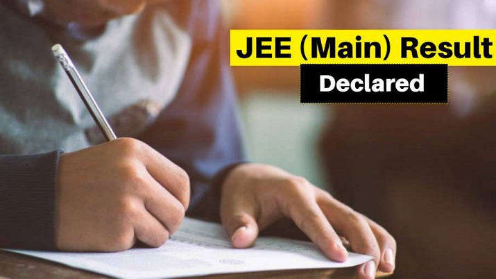 JEE Main results declared