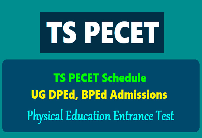 TS PECET notification on Feb 21