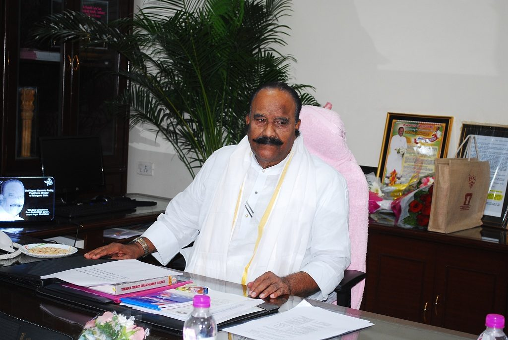 Telangana recruiting over 9000 constables and SIs: N.Narsimha Reddy