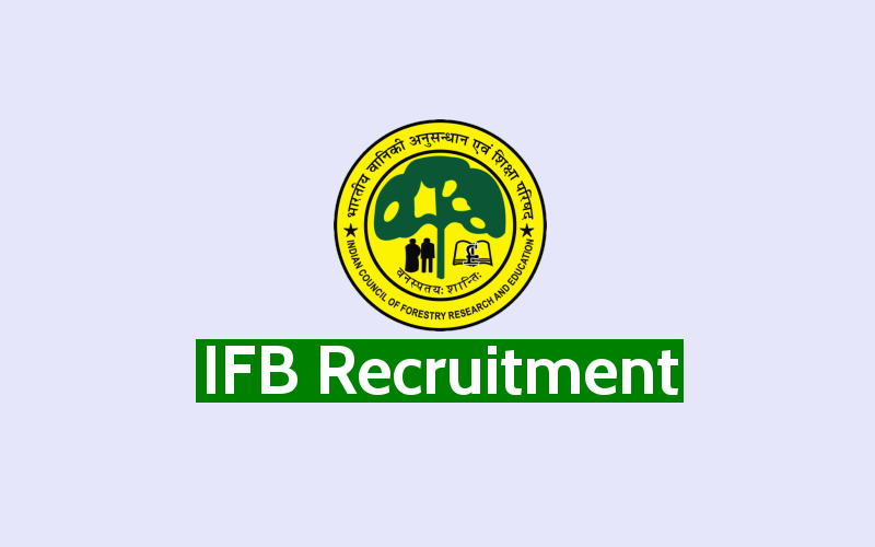 Openings available for IFB Hyderabad Recruitment 2020, Six posts for Technical Assistant - Apply