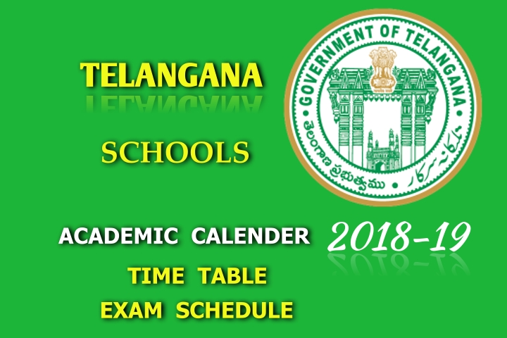 Academic calender for the academic year 2018-19 released
