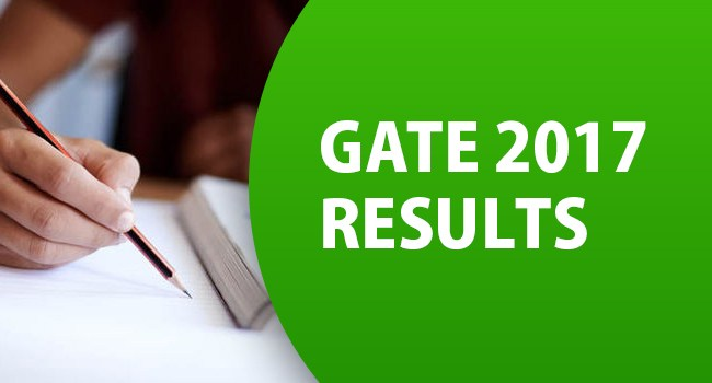 GATE-2017 results announced
