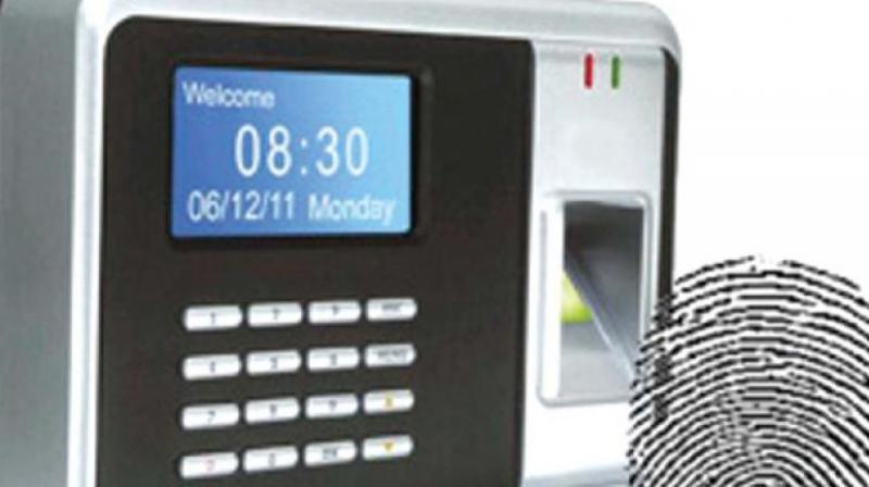 Biometric attendance in govt schools from next year in Telangana State