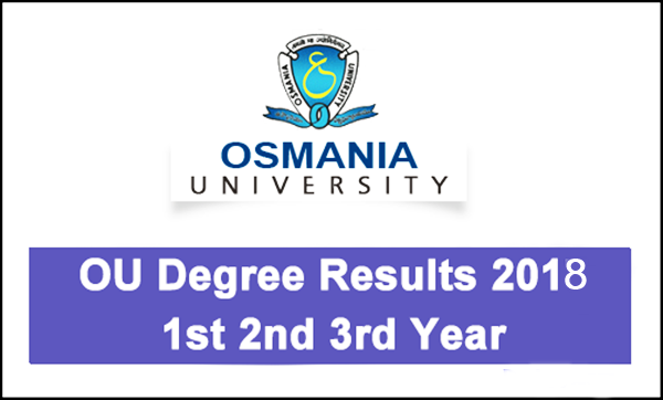 Osmania University  degree results to be out today